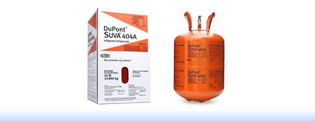 Dupont Suva® 404A refrigerant   Metra Impext Limited